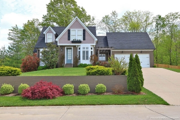 Home for sale in Cape Girardeau MO 5 bedrooms, 3 full baths and 1 half baths