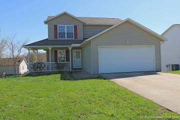 Home for sale in Jackson MO 3 bedrooms, 2 full baths and 1 half baths
