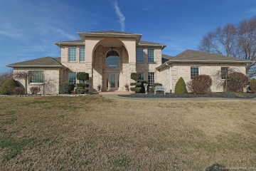 Home for sale in Benton MO 3 bedrooms, 3 full baths and 1 half baths