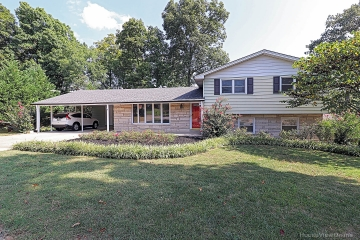 Home for sale in Cape Girardeau MO 4 bedrooms, 2 full baths and 1 half baths